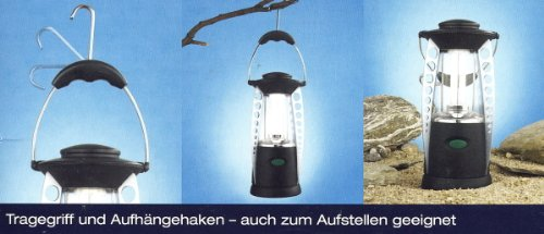 Campingleuchte Batteriebetrieb Energiesparlampe OSRAM 2G7