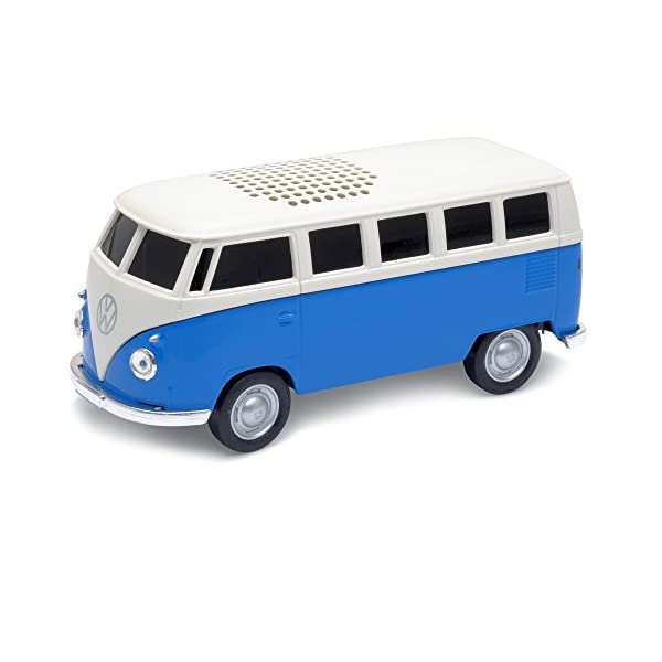 Official VW Camper Van Bluetooth Wireless Music Speaker - Blue 1