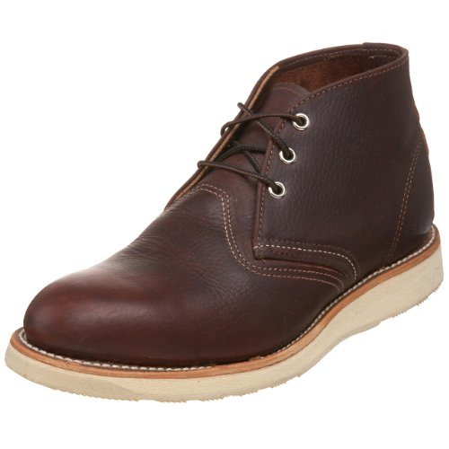 Red Wing Shoes Dark Marrone Chukka Boots-UK 7