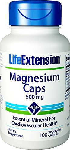 500 Mg Vegetarische Caps (Magnesium Caps 500 mg 100 vegetarian capsules)