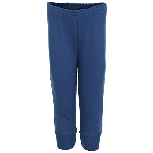 HAIG-DOT Unisex Blue Close Bottom Track Pant