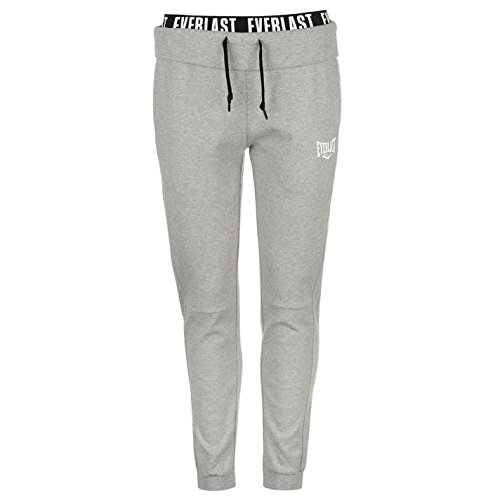 Everlast Damen Closed Hem Branded Sweat Jogginghose Grau Marl UK 10 (S)