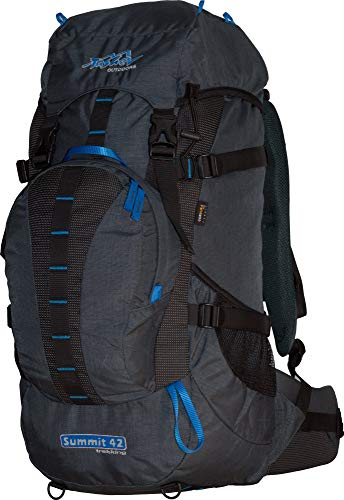 Tashev Wanderrucksack Summit 42 L Grau - Blau -