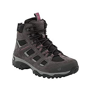 Jack Wolfskin VOJO HIKE 2 TEXAPORE MID W, wasserdichte Damen Wanderschuhe, leichte Outdoor Schuhe für Tagestouren, atmungsaktive Hikingschuhe für Frauen