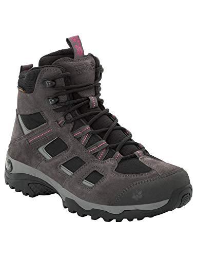 Jack Wolfskin Damen Vojo Hike 2 Texapore MID W Wasserdicht Trekking-& Wanderstiefel, Grau (Dark Steel/ Black 6059), 42 EU