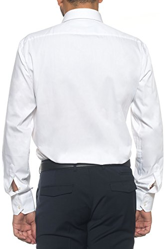 BOSS Regular-Fit Hemd Enzo 50121367 Herren Weiß