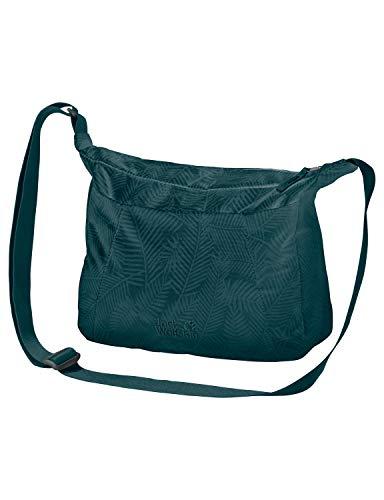 Teal Green (Jack Wolfskin Damen Valparaiso Bag Umhängetasche Alltag Tasche, Leaf Teal Green, ONE Size)