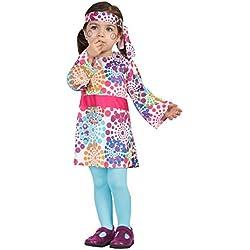 Atosa 24429-Hippie, Baby Disfraz, 6-12meses