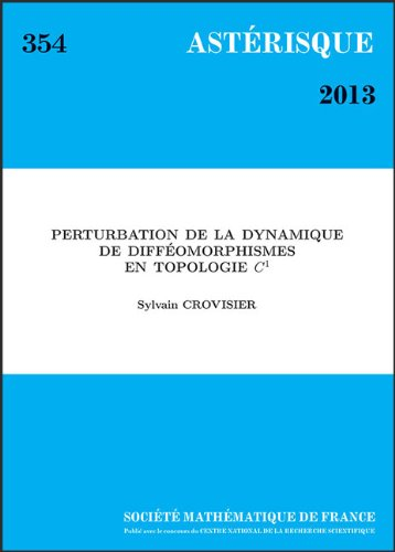 Perturbation De La Dynamique De Diffeomorphismes En Topologie C¹