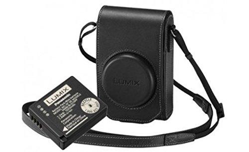 Oferta de Panasonic Funda de Piel y batería para cámara Lumix TZ100 - Negro