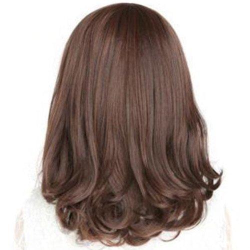 qhtongliuhewu 1 Stück Fashion Cosplay Kostüm Full Perücke Hitzebeständig lang gelockt Haar für - Männliche Kostüm Perücken