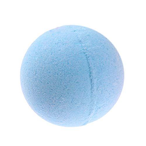 Domybest 1pcs Bombe de Bain Boule Effervescente Bain Relax Soulagement du Stress de Corps Boule de Bain Naturel pour Femme (Senteur sel de mer)