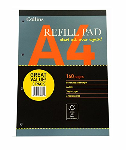 collins-64pedx3-essential-a4-refill-pad-160-pages-pack-of-3
