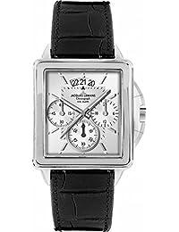 Jacques Lemans Classic Herren-Armbanduhr Chronograph Quarz Leder Sydney 1-1539B