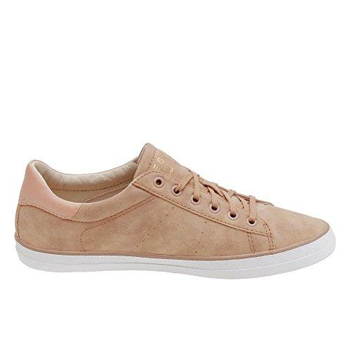 ESPRIT Damen Riata Lace Up Sneakers Rot (Rose)