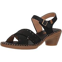 El Naturalista N5325, Zapatos de tacón con Punta Abierta para Mujer