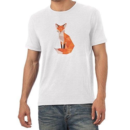 Texlab T-Shirt - Collo a U - Maniche Corte - Uomo Bianco