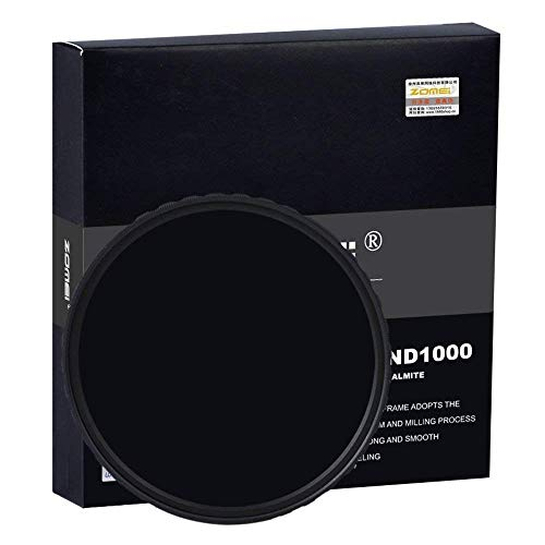 Zomei 18-lagige mehrschichtige HD Ultra Slim Wasserdichte SHOTT Schott Kameralinse Polarisationsfilter Zirkular-PL CPL Filter mit rotierendem Ring