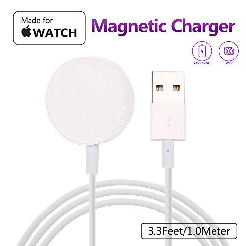 MASOMRUN Cargador Apple Watch [Apple MFi Certificado],Magnetic