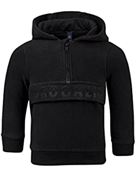 C. &. C Sudadera con capucha negro para niños