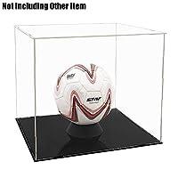 Tingacraft Acrylic Display Case (40 x 36.5 x 35 cm) for Football/Helmet, Self-Assembly