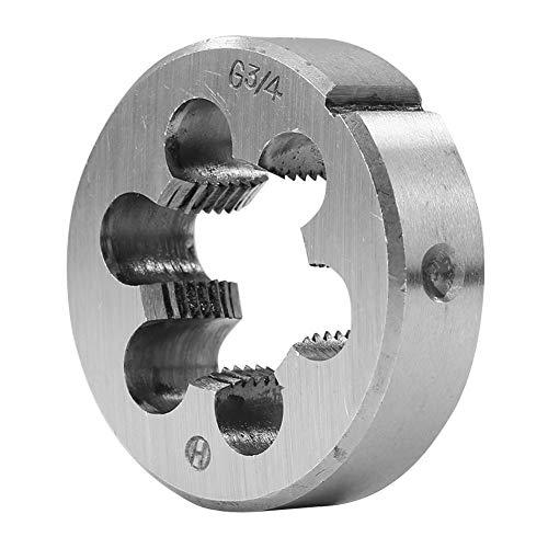 Starnearby Hochgeschwindigkeitsstahl-Gewindeschneiden für Formbearbeitung Schrauben-Reparatur Gewindeschneiden (G3 / 4 (6 Punkte))