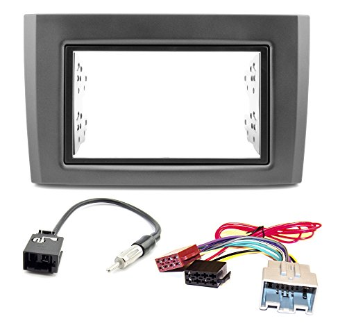 car-radio-installation-kit-for-volvo-xc90-2006-onwards-double-din-radio-faceplate-and-adaptor-radio-