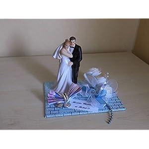 Hochzeit Geldgeschenk schwangere Braut - hellblau