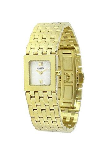 ROAMER Damen-Armbanduhr DREAMLINE vergoldet (Weiss/Gold)