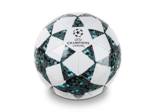 Mondo Toys - Balón de fútbol para Hombre - UEFA Champions League - Talla 5 - 400 g - Color: Blanco/Negro/Azul...