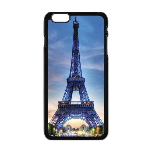 """Tour Eiffel en silicone TPU pour Apple iPhone 6Plus (5.5""""), iPhone 6Plus Coque de protection rigide Case Cover, iPhone 6Plus, Belle Coque de protection design pour Apple iPhone 6Plu"""