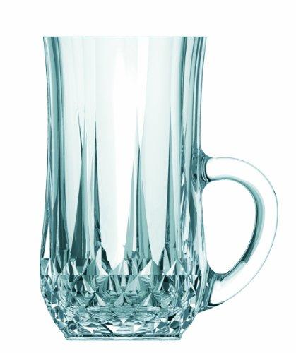 Cristal D'arques Diamax Longchamp Lot de 6 verres à thé 14 cl