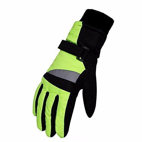 Piscine étanche et résistant à l'usure à chaud froid de voiture électrique gants épais gants de ski pour enfants