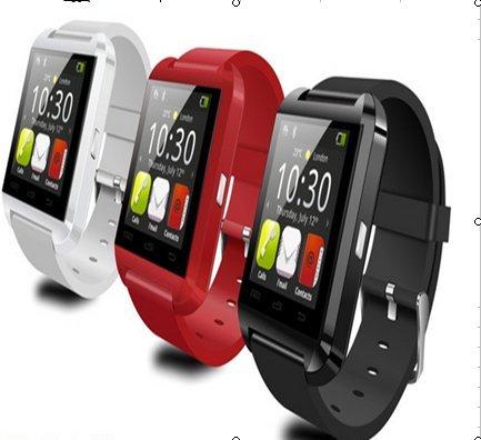 Yirong wasserdichte intelligente Bluetooth-Armbanduhr Anruf Nachricht Reminder / Sleep-Monitor / Trinken / Sedentary Erinnern / Anti-lost / Stoppuhr / Kalender / Rechner / Pedometer U8 Ohne Altitude