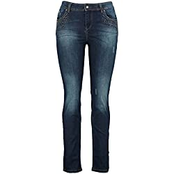 MS Mode Damen, Slim Leg Jeans, EU 48