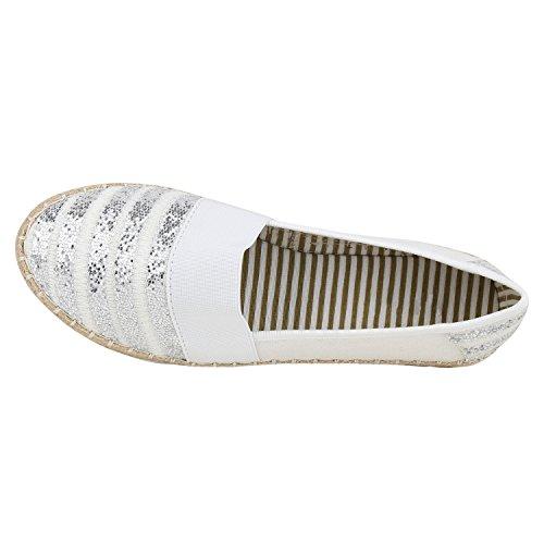Donna Da Ginnastica Napoli Bianco Bast Scarpe moda Weiss ZHEHIw