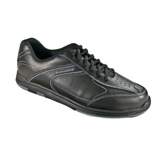 Brunswick Flyer Herren Bowling-Schuhe, Herren, Flyer, Schwarz