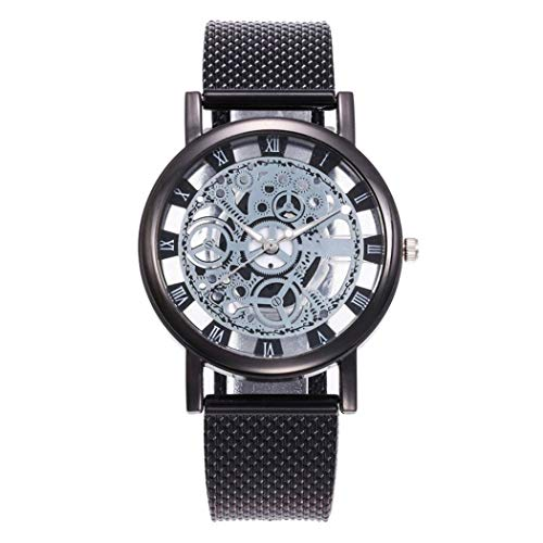 Modernos relojes de pulsera Pudrew con cuarzo transparente (3 colores) por sólo 3,99€ usando el #código: SPLEGZFZ