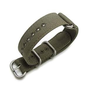 Bracelet NATO 20B20EZZ00C2R01(FR)–Sangle de nylon, Vert (20)