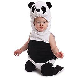 Dress up America Disfraz de oso de panda para bebé, disfraz de Halloween