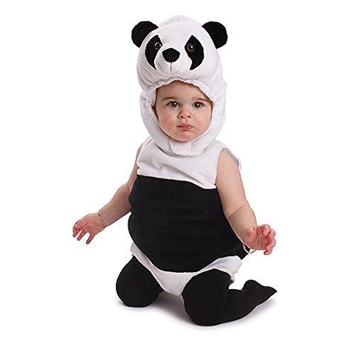 Dress Up America - 870 - Déguisement de Panda - Unisexe Enfant - 0 - 6 mois