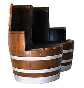 eichenfaesser-und-mehr H004.04 Stuhl Aurora Double 1,40 x 95 cm, kirschbaum/silber