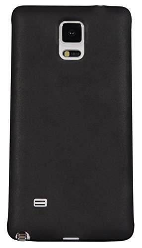 "WOW Imagine™ ""Translucent Series"" 0.3mm Ultra Thin Matte Finish Hard Case Back Cover For SAMSUNG GALAXY NOTE 4 SAMSUNG GALAXY NOTE 4 – Black"