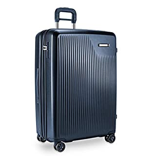 Briggs & Riley Sympatico Large Expandable Spinner Maleta, 76 cm, 147.5 Liters, Azul (Navy)
