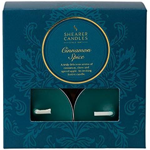 Shearer Candles–Velas de té perfumadas (aroma de