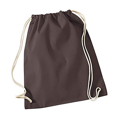 Westford Mill Sport Sack - 12 Liter (2 Stück/Packung) (Einheitsgröße) (Schokolade) -