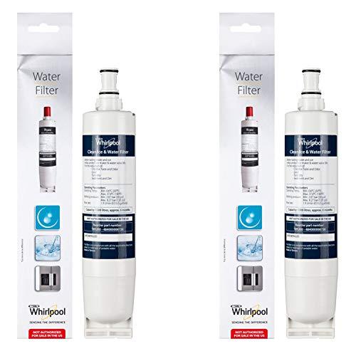 WPro Wasserfilterkartusche für Maytag Doppel-Kühlschrank/Gefrierschrank, 2 Stück
