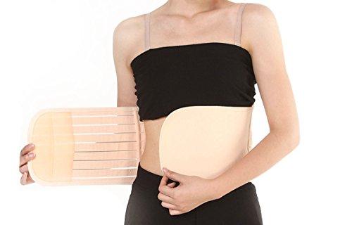 Elandy atmungsaktiv postnatale Schwangerschaft Mutterschaft unterstützend Gürtel Bauch Bauch Binder für Frauen nach der Geburt - Stripe Syle (S) -