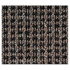 Oxford Wiper Mat, 48 x 72, Black/Brown, Sold as 1 Each