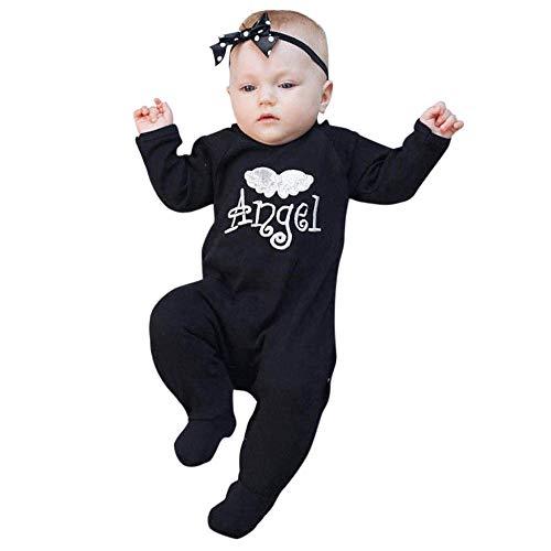 QinMM Infant Baby Jungen Mädchen Brief Stickerei Engel -